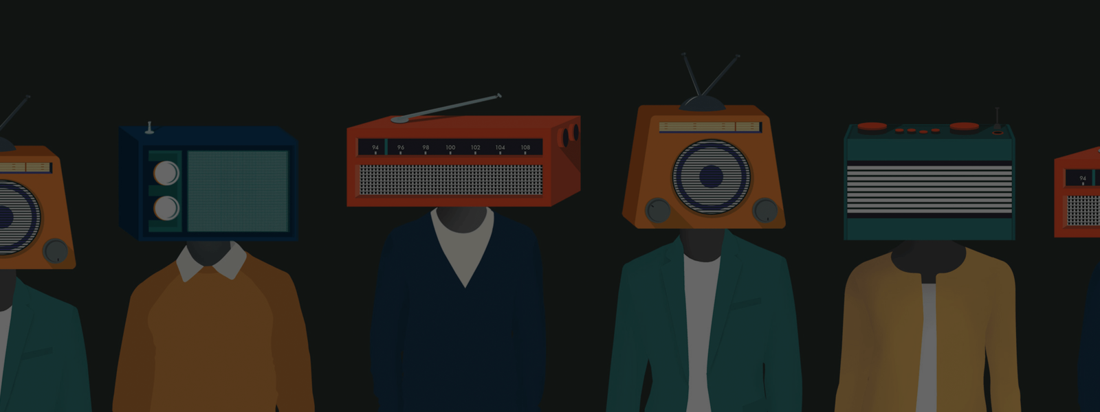 Background show artwork for Casting Call