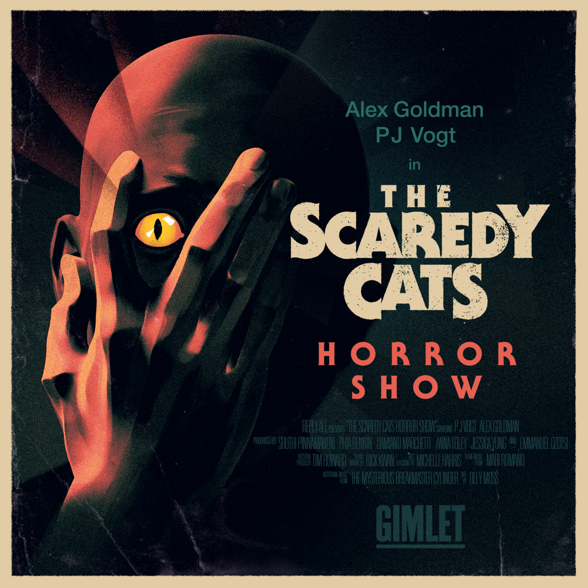 Show artwork for The Scaredy Cats Horror Show